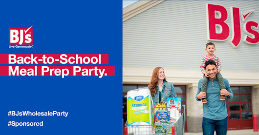 You've got to check out BJ's Wholesale Club's Back-to-School Meal Prep Party event on Ripple Street!