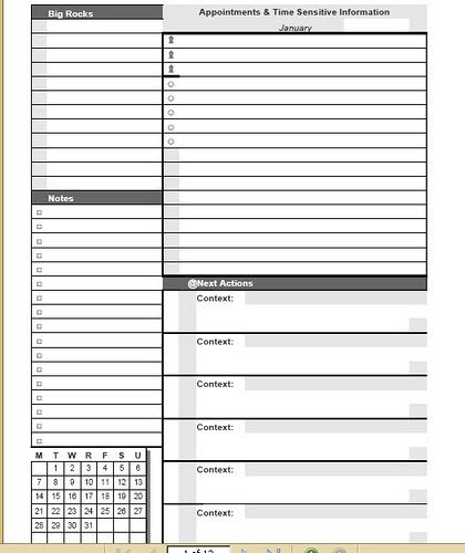Daily Planner 2 Days Per Page – My Blog