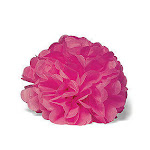 Weddingstar 9306-31 Celebration Peonies Tissue Paper Flowers - Large - Fuchsia
