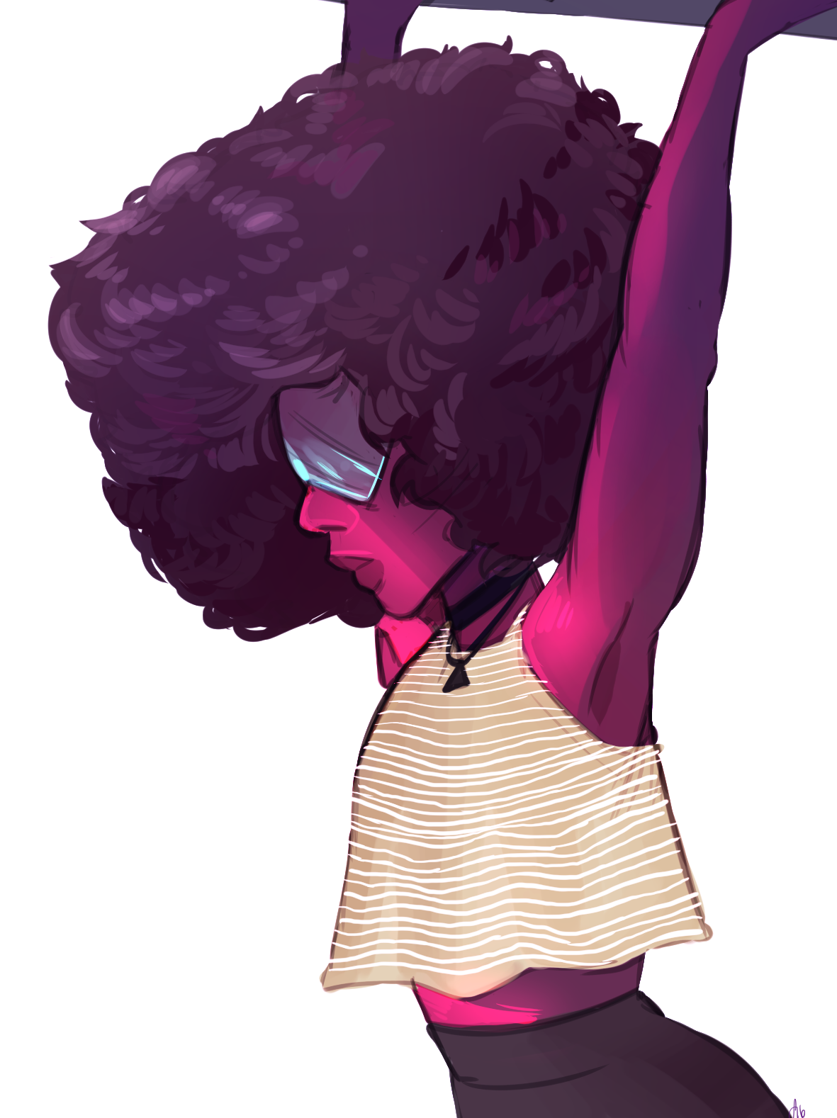 draws garnet in outfit i havent actually worn yet