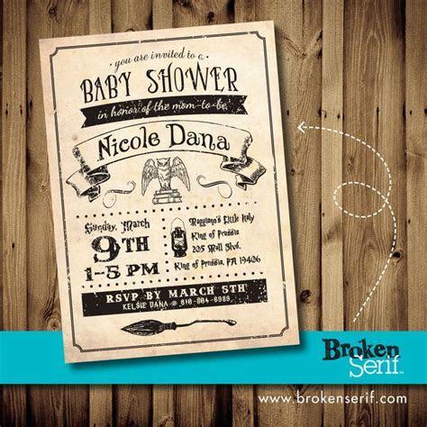 Harry Potter Baby Shower Invitations   Party XYZ