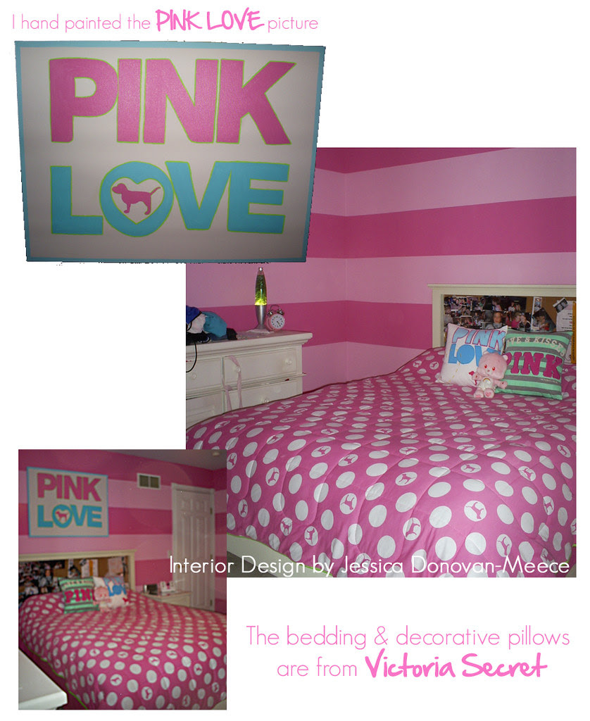 PINK LOVE collage