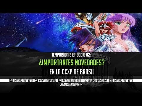 8x02 ¿Importantes novedades en la CCXP de Brasil? - PROGRAMA EN VIVO