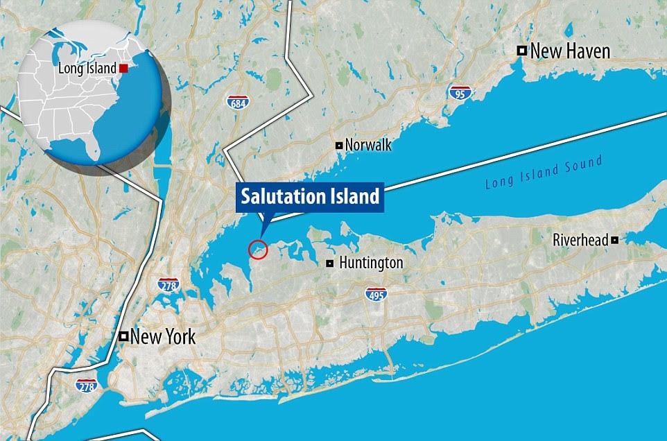 Đảo Salutation nằm cách thành phố New York chỉ một giờ đi xe hơi và cách sân bay hay không ít hơn 30 phút