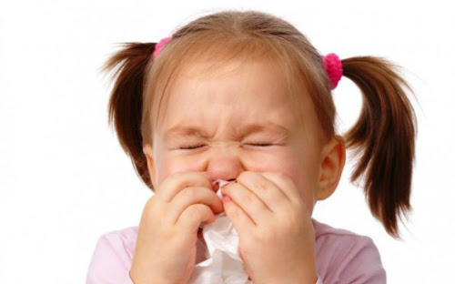 Mỗi năm, trẻ có thể mắc 8-10 đợt nhiễm virus, với các triệu chứng phổ biến là ho và cảm.