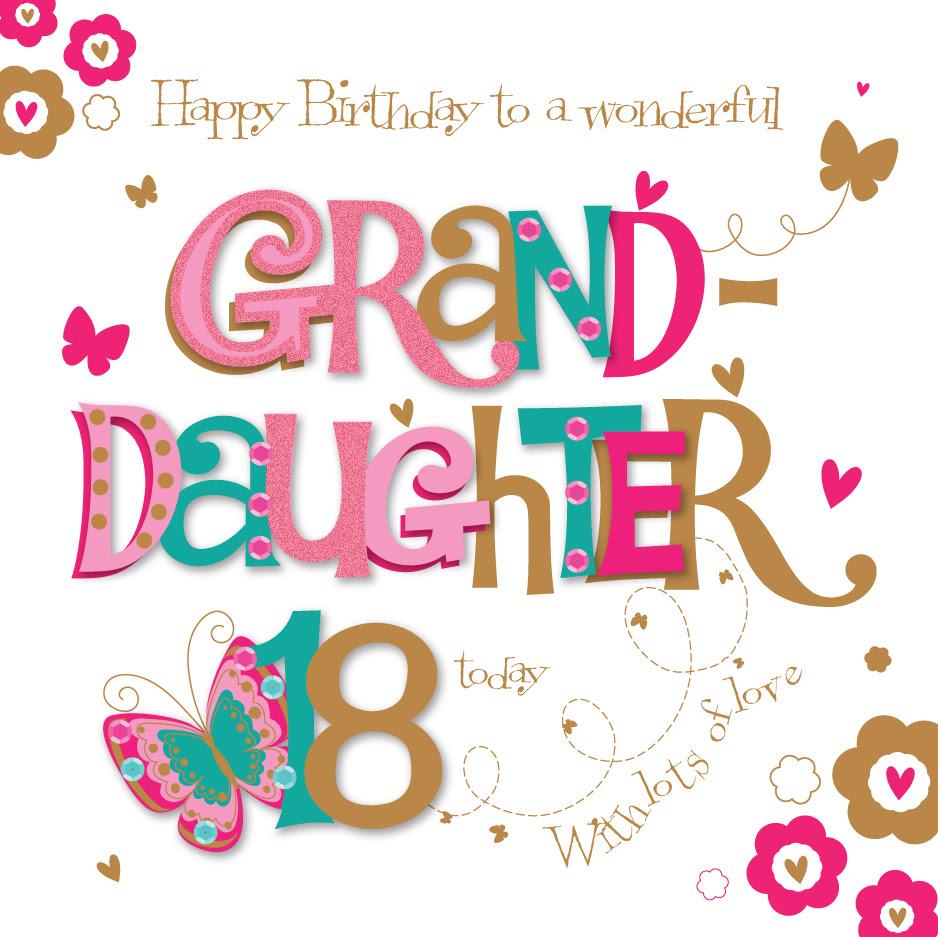 Christmas Greetings For Granddaughter