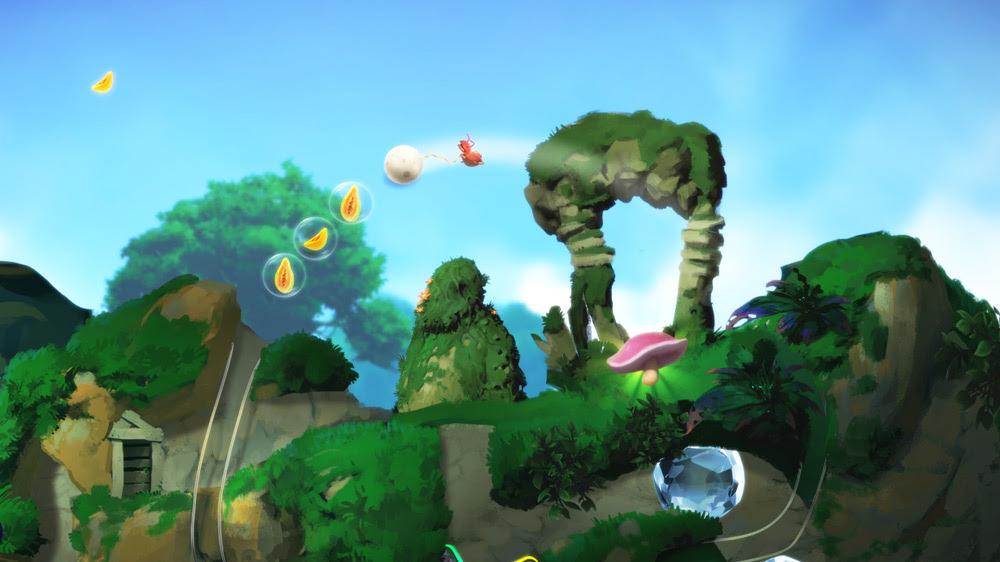 Yoku's Island Express looks like pure fun screenshot