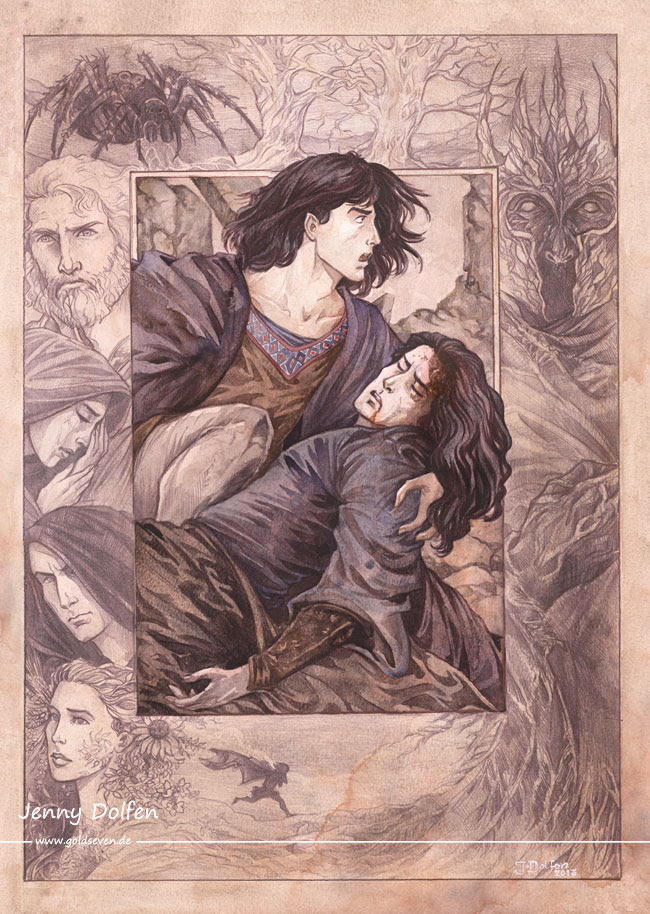 """The Darkening of Valinor"" by Jenny Dolfen"