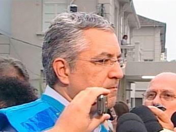 Alexandre Padilha concedeu entrevista coletiva no RS (Foto: Reprodução/RBS TV)