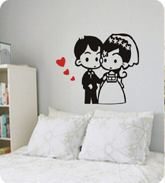 Compare Romantic Wall Decal-Source Romantic Wall Decal by ...
