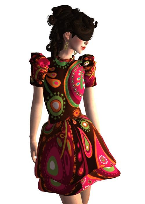 Group Gift Paisley Dress