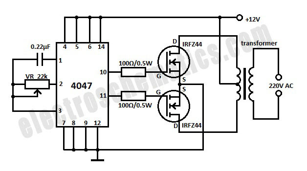 CIRCUIT DIAGRAM FOR 230V AC TO 5V DC