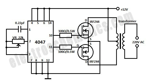 12v dc to 220v ac converter circuit diagram hp photosmart