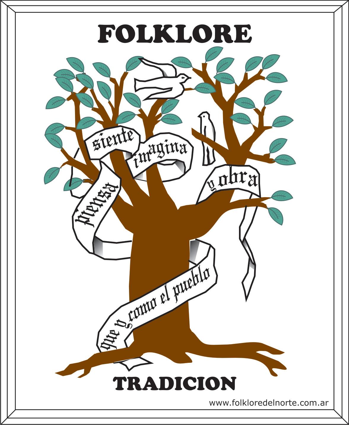 Emblema Del Folklore Argentino