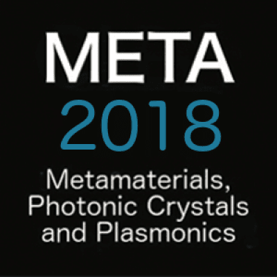 META 2018, the 9th International Conference on Metamaterials, Photonic Crystals and Plasmonics