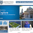 Viral 'Monsters University' Website Launches