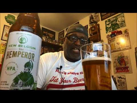 New Belgium The Hemperor HPA Beer Review