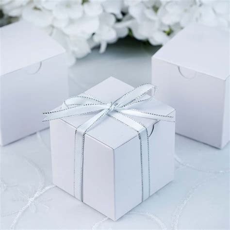 200 pcs 3x3x3 inch Paper GIFT BOXES Wedding FAVORS Easy