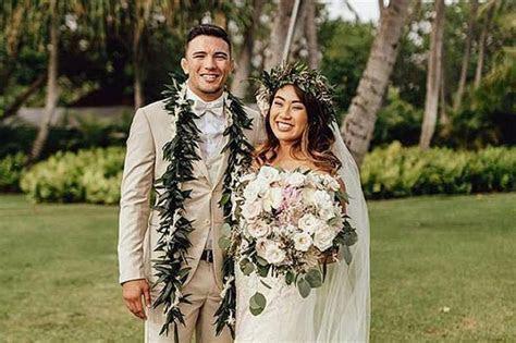 MMA fighter Angela Lee rings wedding bells in Hawaii