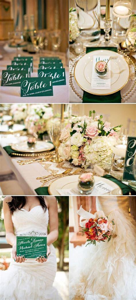 1000  ideas about Green Gold Weddings on Pinterest