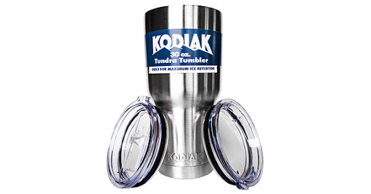 Free Weekly Giveaway - Kodiak Coolers Stainless Steel Tumbler (Holds ice for over 24 hours)