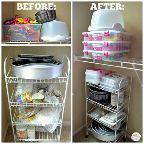 Baking Supply Organizing Ideas   Kitchen Concoctions