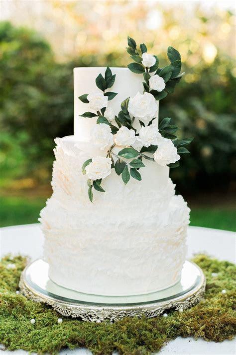 Elegant Garden Wedding Cake   Chic Vintage Brides : Chic
