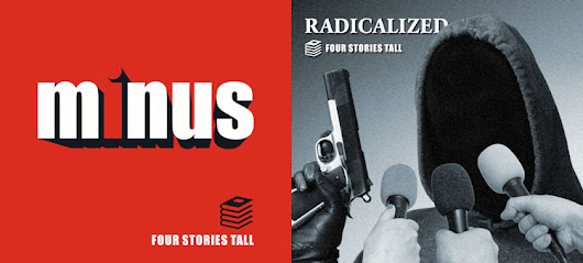 Four Stories Tall EP and Single Covers