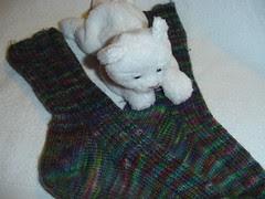 modified Retro Rib socks