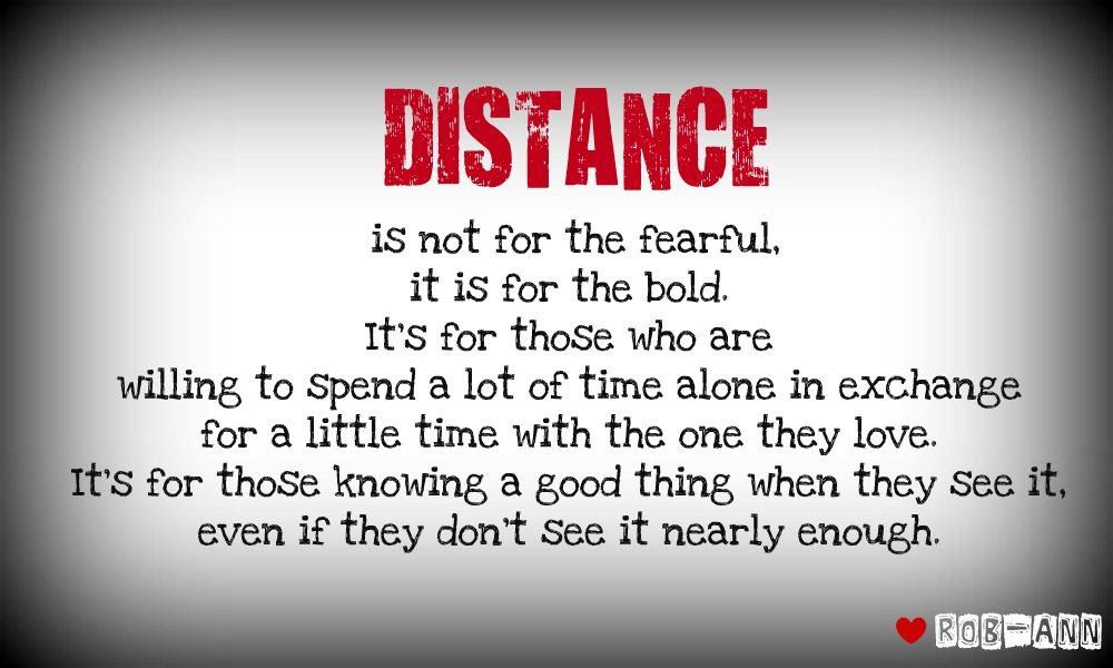 Quotes About Love Over Distance 22 Quotes