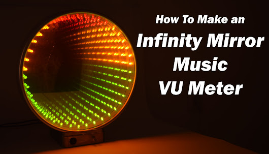 Infinity Mirror Music VU Meter Electronics Project using LM3915 IC - HowToMechatronics