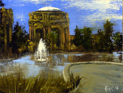 """At The Palace Of Fine Arts"""