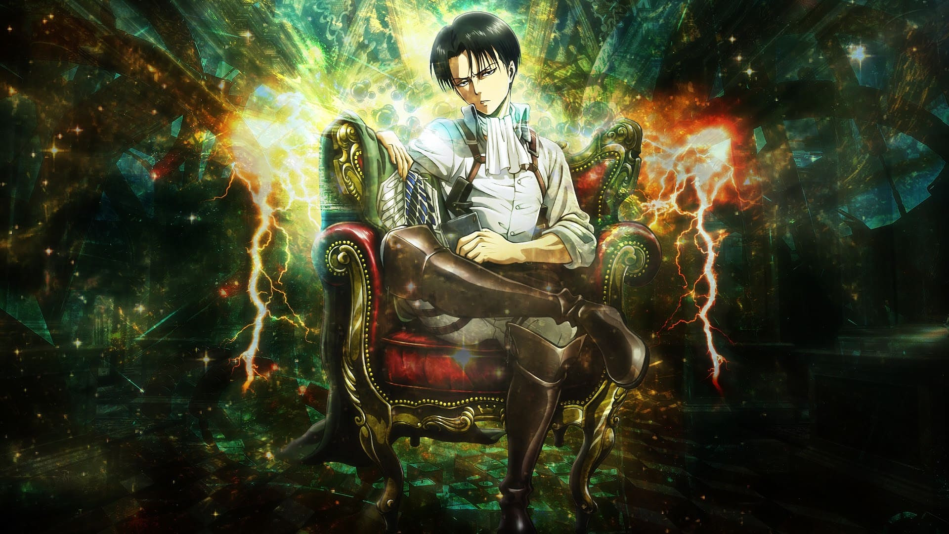 Top 45 Levi Ackerman Wallpapers 4k Hd
