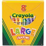 Crayola Large Crayons - 8 pack