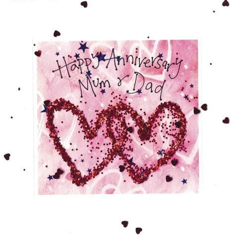 Happy Wedding Anniversary Cards For Parents   www.pixshark