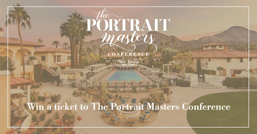 WIN A TICKET + TRAVEL TO THE SUE BRYCE PORTRAIT MASTERS CONFERENCE!