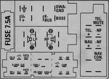Blaupunkt Car Radio Wiring Diagram