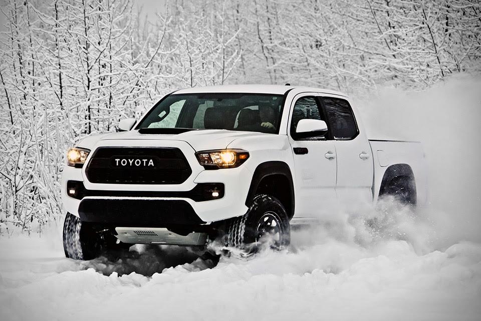 Hasil gambar untuk Toyota Tacoma TRD PRO OFF-Road Monster 2017