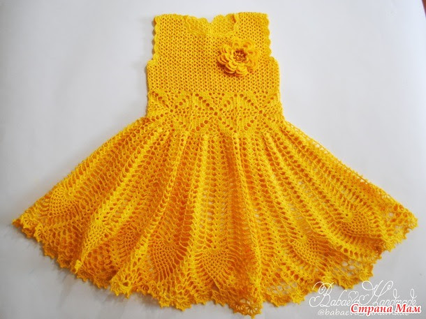"Dress for girls ""Spring Flower"""