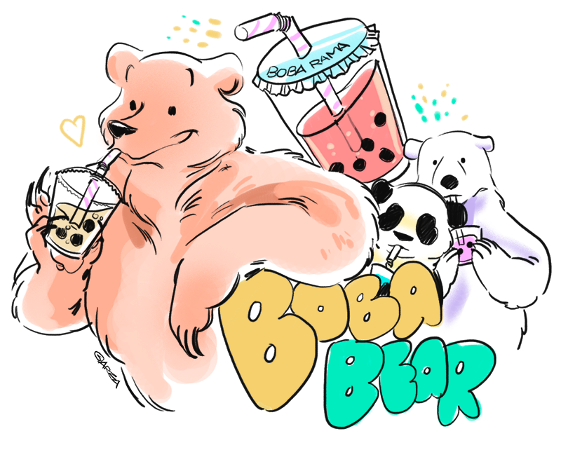 [We Bare Bears] BOBA BEAR
