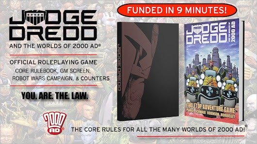 Judge Dredd & The Worlds of 2000 AD Roleplaying Game