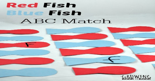 Dr. Seuss Activities: Red Fish Blue Fish ABC Game