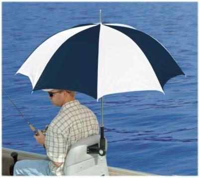 Real Shade Boat Seat Umbrella With Bracket Cherokee