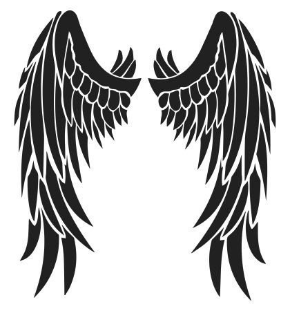 Tattoo Trends Angel Devil Wings Tattoo Design Free Black Tribal