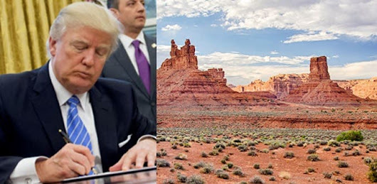 Trump Just Announced An Executive Order To Sell Off National Monuments