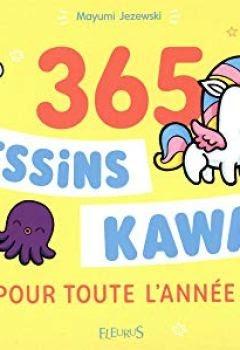 Livre 365 Dessins Kawaii