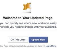 Facebook despliega el nuevo diseño para «Páginas» en todo el mundo