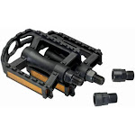 Bell 7025227 Universal Bike Pedals With Reflectors