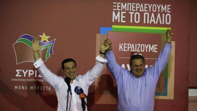 Alexis Tsipras, Panos Kammenos