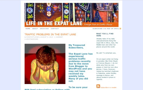 LIFE IN THE EXPAT LANE blog